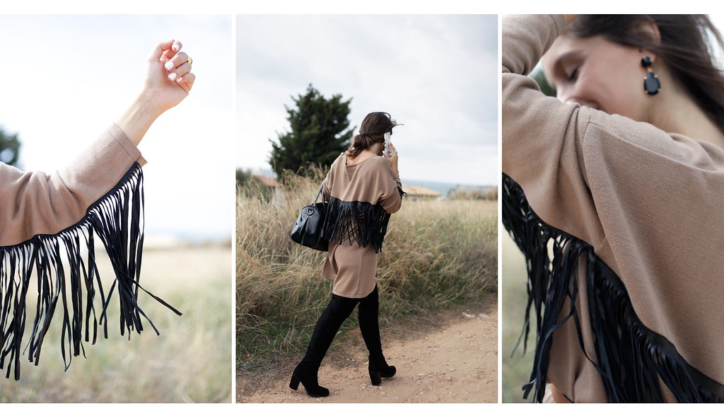 03_fringed_dress_and_long_boots_fashion_blogger_barcelona_theguestgirl