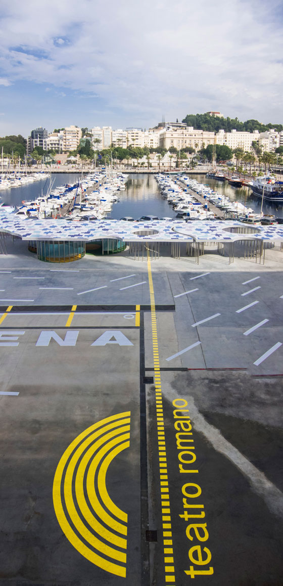Port of Cartagena, Spain. Architcture: Martin Lejarraga. Photo: David Frutos
