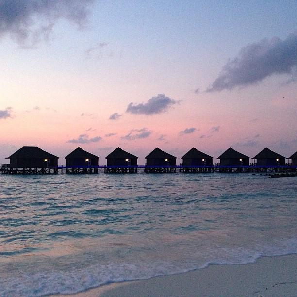 Water. Sand. Villas. #maldives