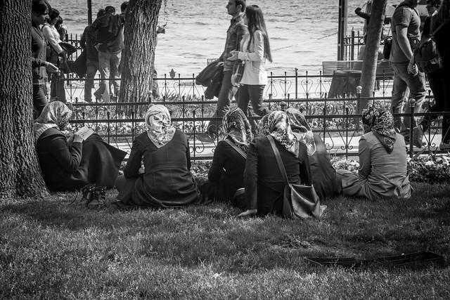 Women Relaxing - Istanbul, Turkey