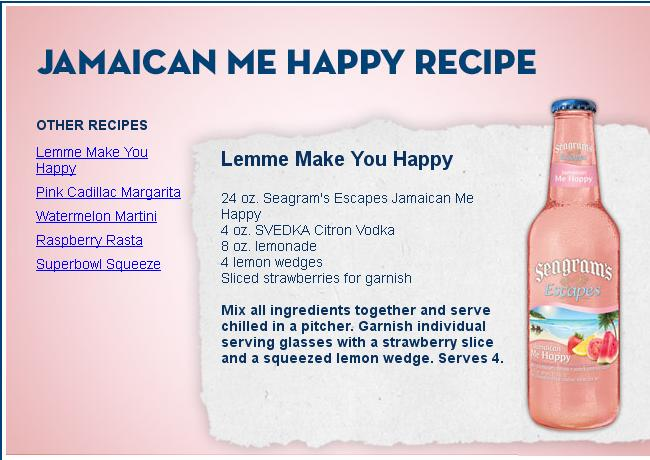 seagram recipe
