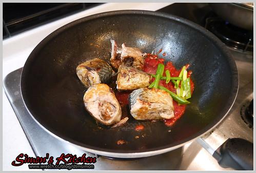 茄汁鯖魚05