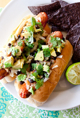 Tex-Mex Rancheros Hot Dogs