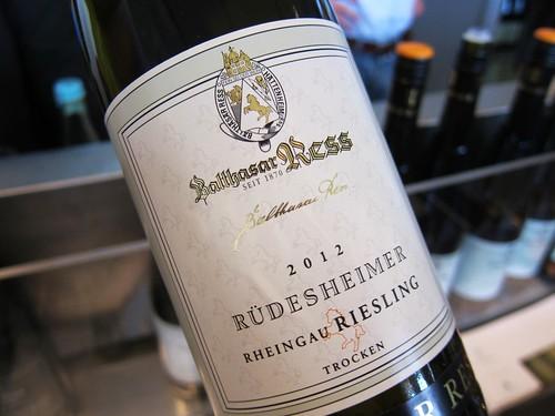2012 Ruedesheimer Riesling Balthasar Ress