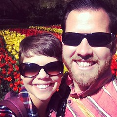 We took in miles of flowers (and tourists) today at Keukenhoff gardens.
