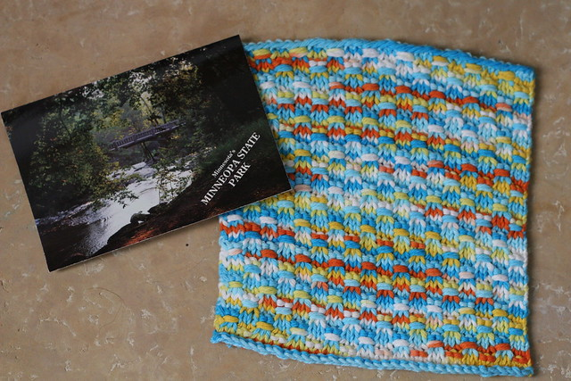 april dishcloth swap - sent