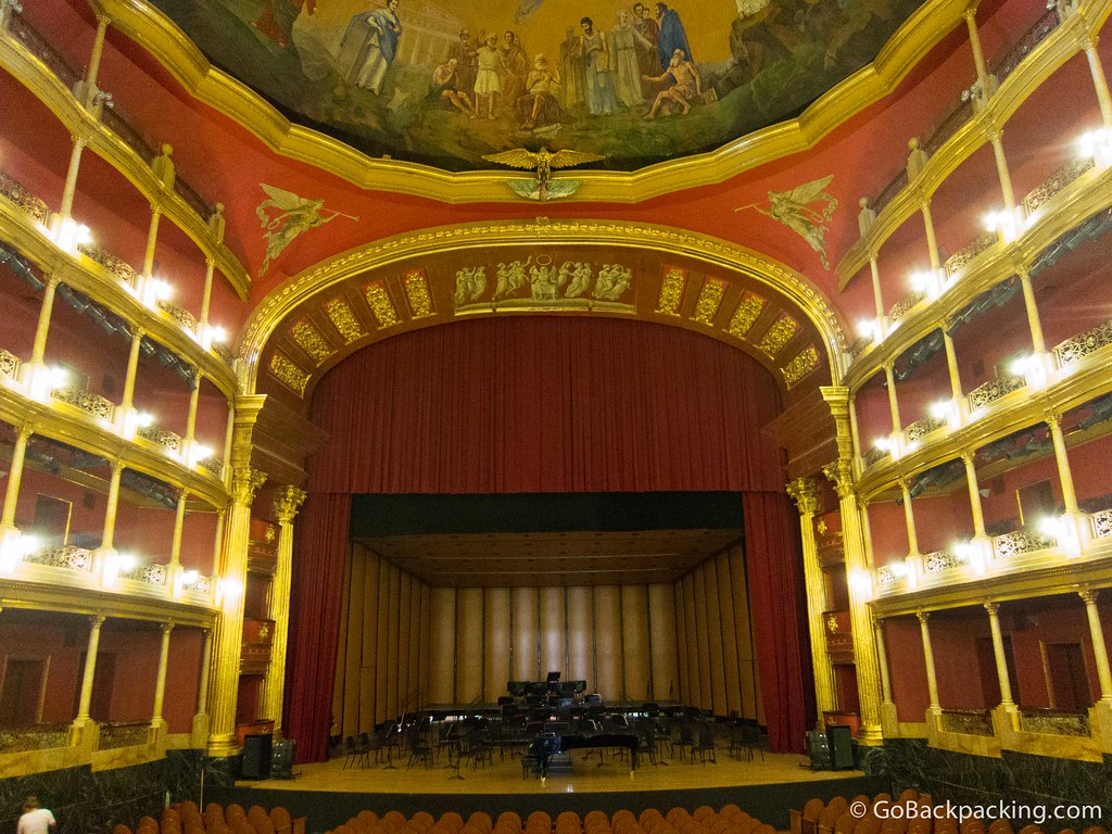 Inside Teatro Degollado