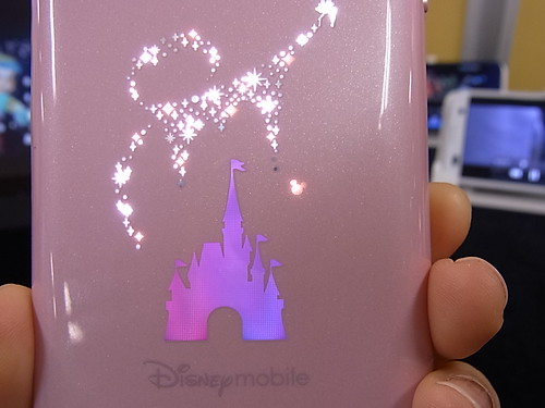 Disney Mobile on docomo F-07E 背面イルミネーション
