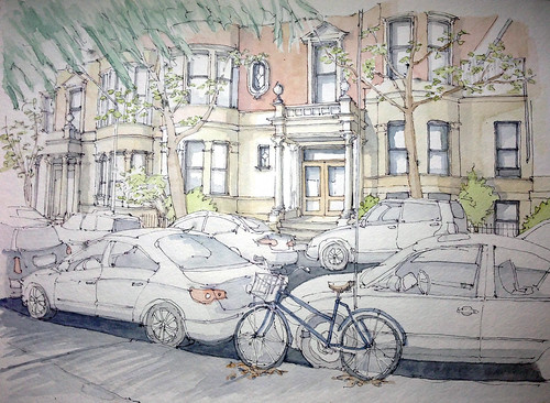 Park Slope Sketch Garfield 8th Ave