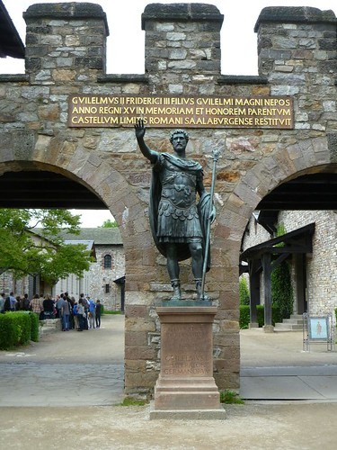 Statue of Antoninus Pius at Saalburg