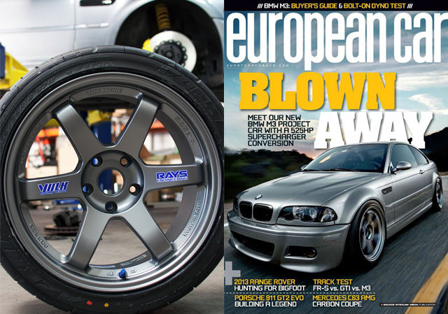 E46 M3 Build For European Car Magazine Bmw Performance Parts