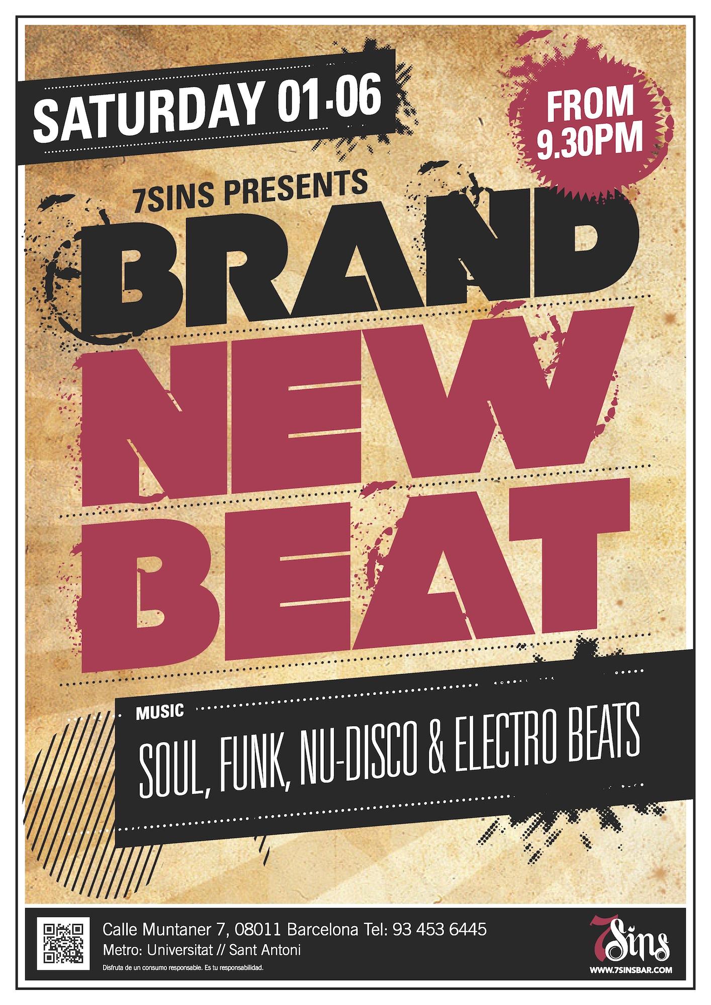 Brand New Beat @ 7 Sins