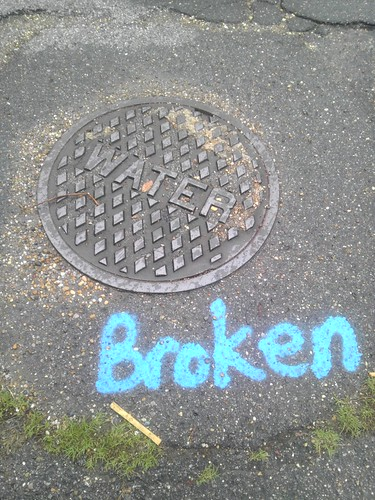 water broken by boxchain