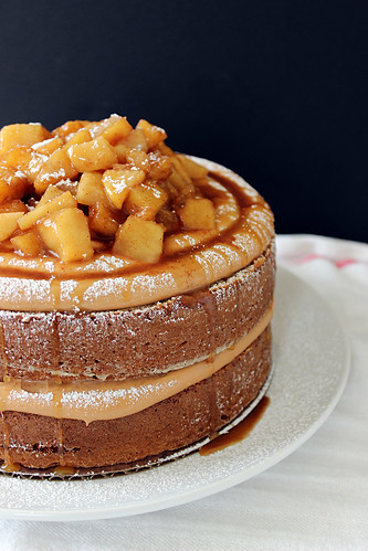 Caramel Apple Pie Cake Beyond Frosting