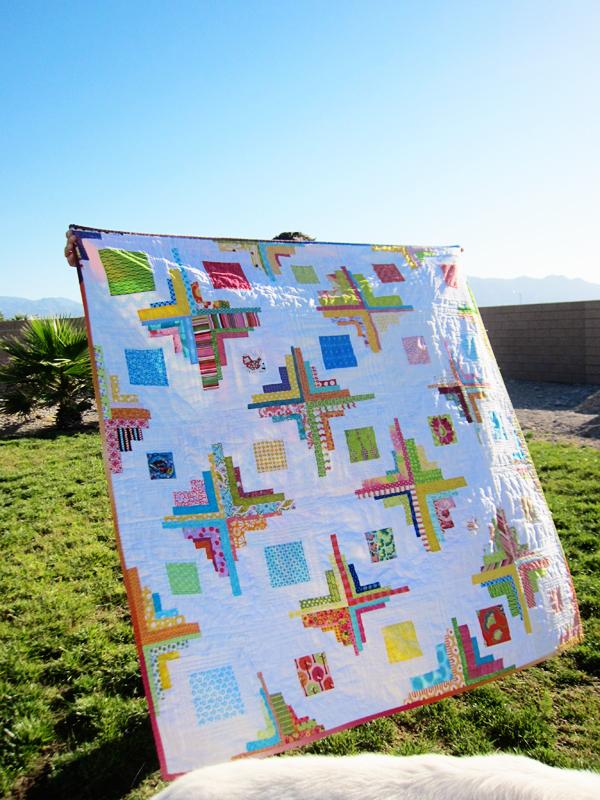 lizzys quilt - front