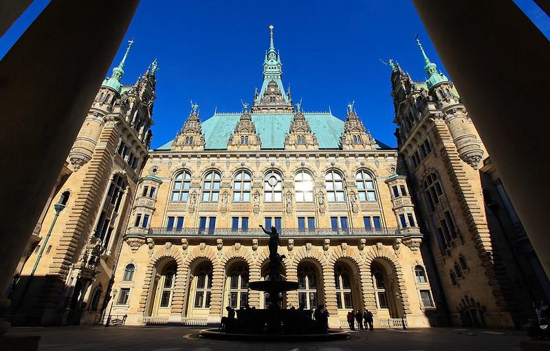 漢堡市政廳中庭