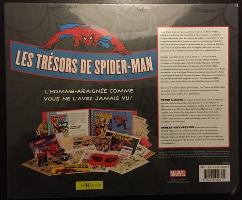 Les trésors de Spider-Man - dos