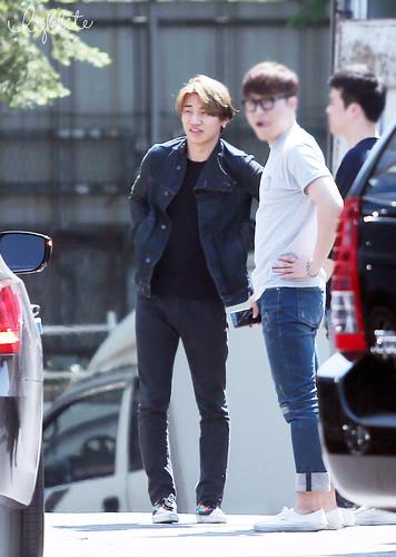 Big Bang - SBS Inkigayo - 24may2015 - Arriving - Dae Sung - High Lite - 04