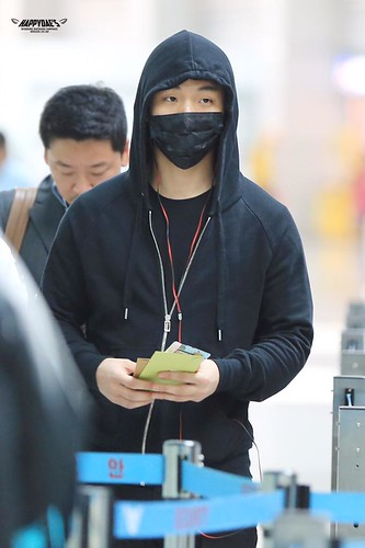 Big Bang - Incheon Airport - 01apr2015 - Dae Sung - Happy_daes - 01