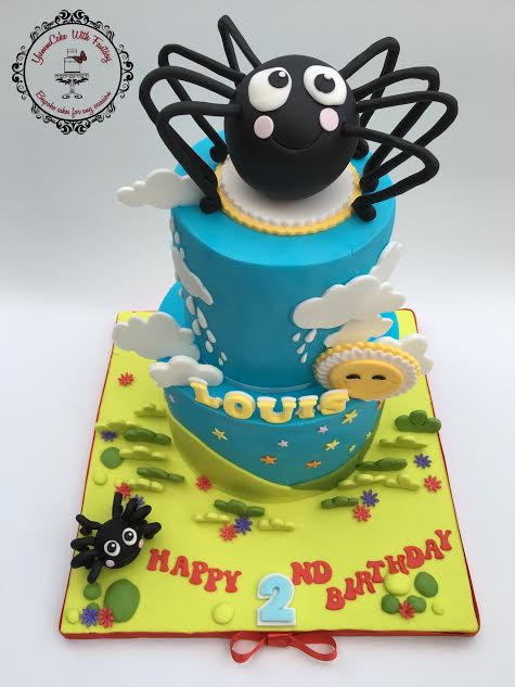 Spider Cake by Marzena Anna Romanik -Cwik . YummCake With Fantasy
