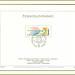 MiNr. 2420 - jahr 18. Dez. 1977. Tag der Briefmarke. Komb. StTdr. und RaTdr.; gez. K 11 ½  :11 ½  Taube, Posthorn auf Briefumschlag 5110 M