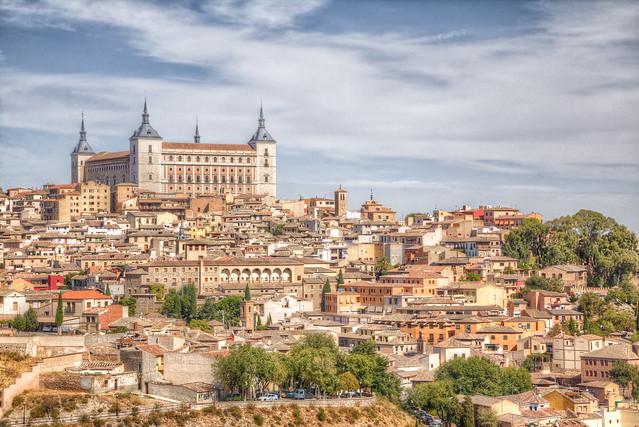 Alcázar sobre Toledo
