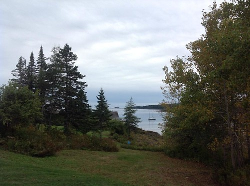 What about this for a view from your RV? #maine #winterland #mainecoast #campingfun