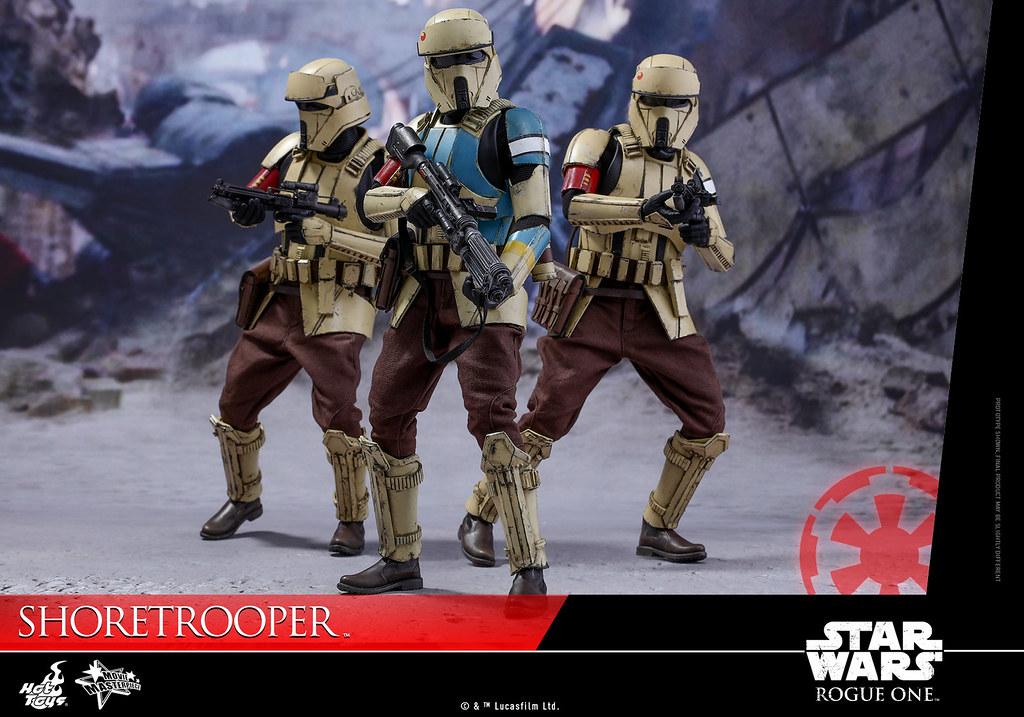 Hot Toys – MMS389 – 《星際大戰外傳:俠盜一號》1/6 比例 海防風暴兵 Shoretrooper