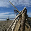 Boat on Salmon Creek Beach