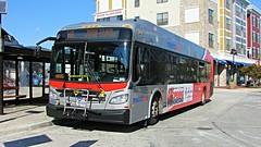 WMATA Metrobus 2016 New Flyer Xcelsior XDE40 #7335
