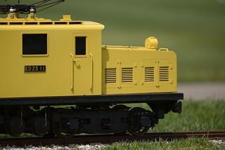 電気機関車ED25@小矢部。