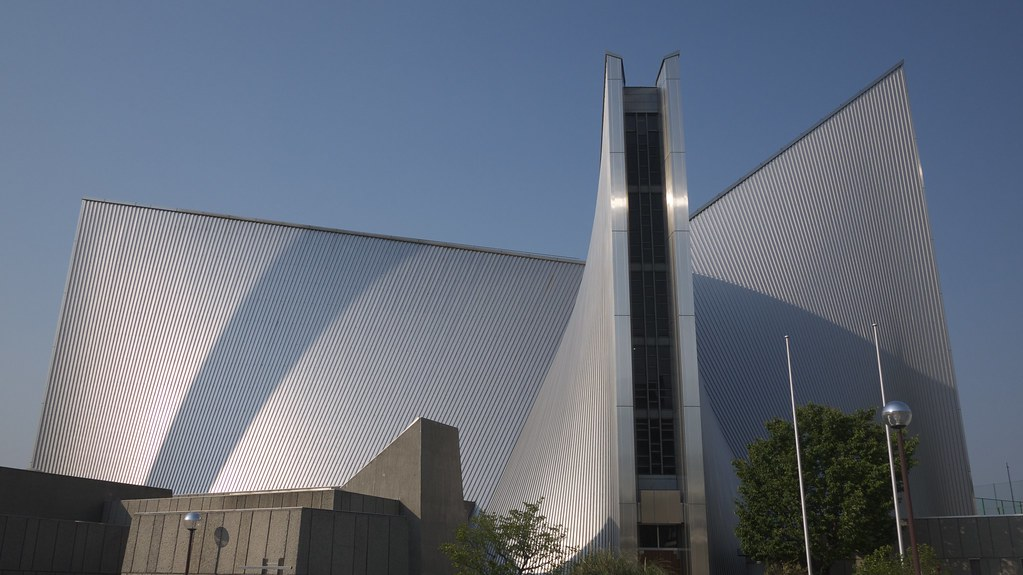 St Mary S Cathedral Tokyo Church Of Concrete And Steel
