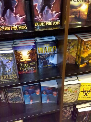 The Ward on Bookshelves