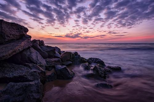 travel sunset water sunrise landscape coast nikon rocks asia sigma srilanka dslr 1020mm ultrawide yyz departing southasia negombo ultrawideangle 2013 d7000 departingyyz