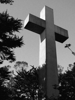 Cross on Mt. Davidson, San Francisco