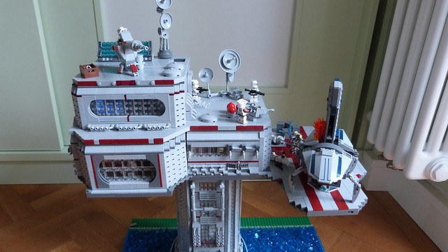Lego Star Wars Tower Base on Kashyyyk