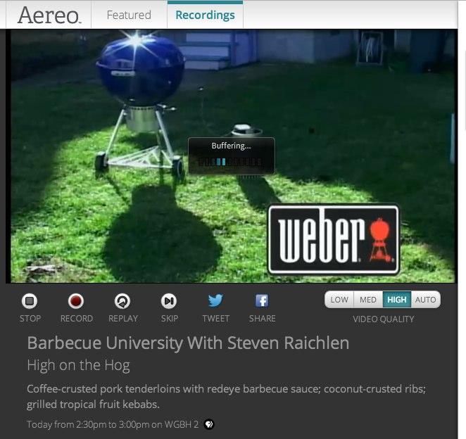 Aereo: More buffering