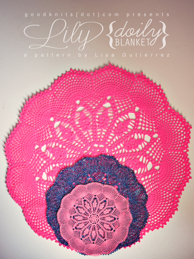 crochet: lily doily blanket