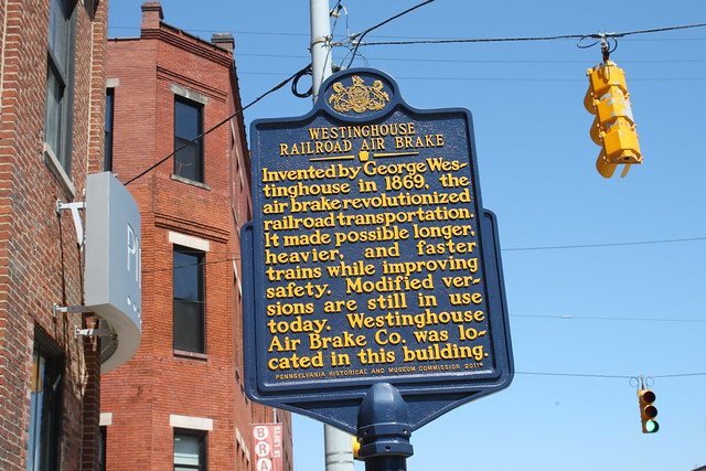 Westinghouse railroad air brake marker flickr photo