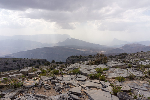 mountain rain clouds landscape hiking summit oman jebelshams addakhiliyah