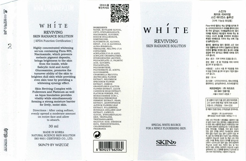 Skin79 White Reviving Radiance Solution