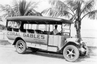 Dammers, Gillette, and Burnes company bus: Coral Gables, Florida