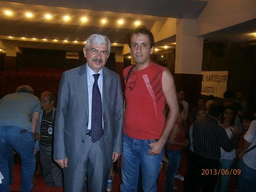 İ.P. Gn. Bşk. Yrd. Mehmet Cengiz  ile Cem Akkılıç