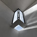 carlo scarpa, architect: gipsoteca del canova, extension of the canova museum in possagno, italy 1955-1957. detail, corner skylight by seier+seier