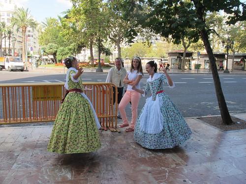 Valencian dancers - Risager