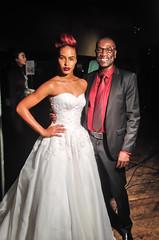 Kosibah at United Colors of Fashion gala, NY, 2013