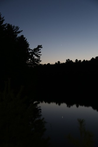 Twilight on Mirror Lake with Venus