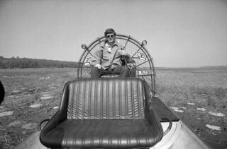 Man on a airboat - Tallahassee