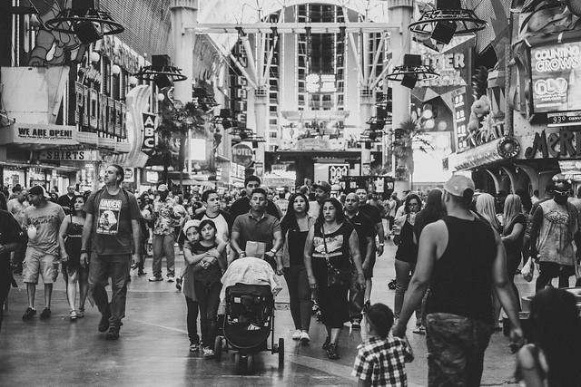 Las Vegas Crowd