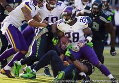 Minnesota Vikings versus Seattle Seahawks